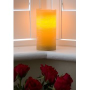 Large Chai Scented Battery Operated Candle